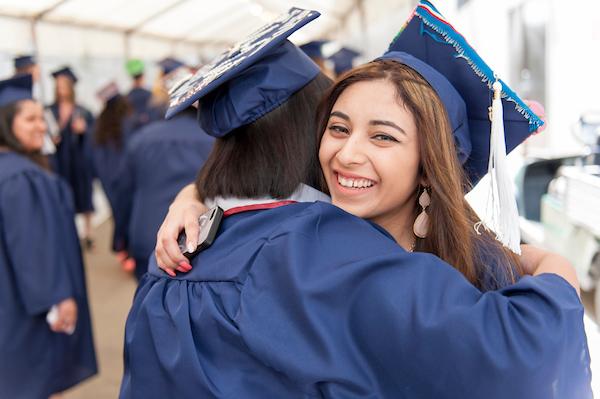 Graduation pics