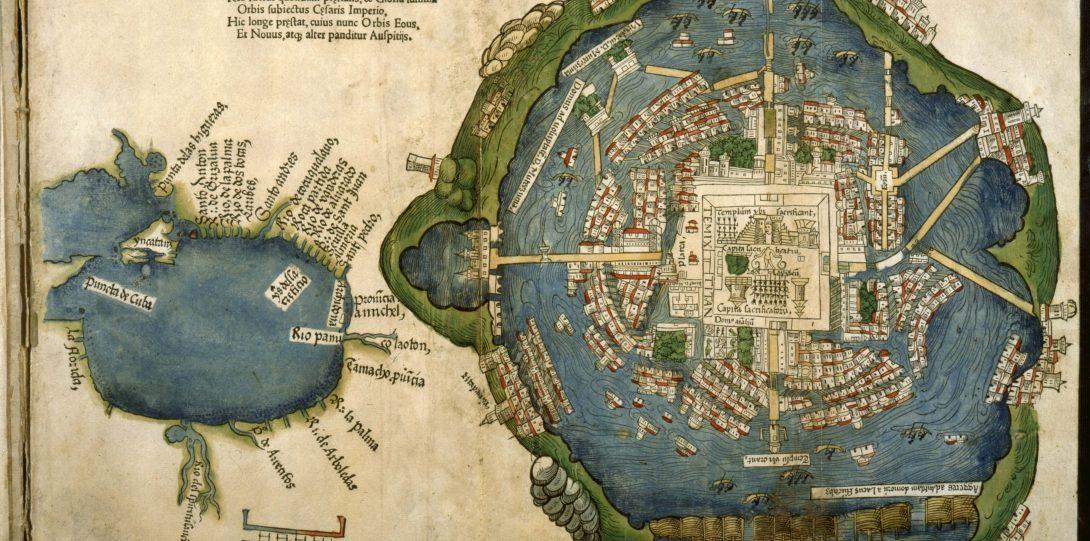 Cortés's map